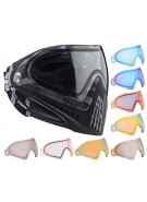 Dye Invision Goggle I4 Pro Mask w/ Additional Mirror Lens - Cubix Gray