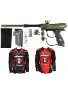 2012 Proto Reflex Rail Paintball Gun w/ Ironmen Jersey - Olive/Black Dust