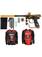 2012 Proto Reflex Rail Paintball Gun w/ Ironmen Jersey - PGA Eagle Dust