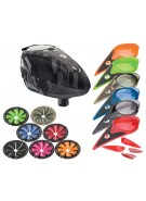 Dye Rotor Paintball Loader w/ Quick Feed & Color Kit - Cubix Gray