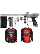 2012 Proto Reflex Rail Paintball Gun w/ Ironmen Jersey - Grey/Graphite Dust