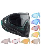 Dye Invision Goggle I4 Pro Mask w/ Additional Mirror Lens - Dyetree Aqua