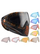 Dye Invision Goggle I4 Pro Mask w/ Additional Mirror Lens - Dyetree Orange