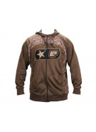 Planet Eclipse Men's B4 Hooded Sweatshirt - Brown/Gold