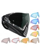 Dye Invision Goggle I4 Pro Mask w/ Additional Mirror Lens - Liquid Grey