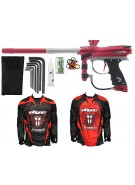 2012 Proto Reflex Rail Paintball Gun w/ Ironmen Jersey - Red/Graphite Dust