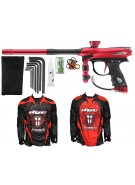 2012 Proto Reflex Rail Paintball Gun w/ Ironmen Jersey - Red/Black Dust