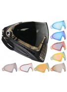Dye Invision Goggle I4 Pro Mask w/ Additional Mirror Lens - Liquid Tan