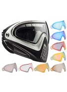 Dye Invision Goggle I4 Pro Mask w/ Additional Mirror Lens - White