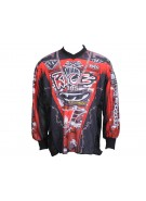 JT Miami Rage Paintball Jersey - Black/Red