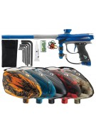 2012 Proto Reflex Rail Paintball Gun w/ Rotor Loader - Blue/Graphite Dust