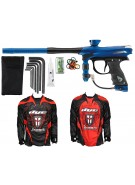 2012 Proto Reflex Rail Paintball Gun w/ Ironmen Jersey - Blue/Black Dust