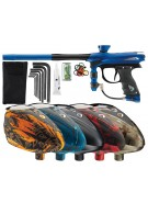2012 Proto Reflex Rail Paintball Gun w/ Rotor Loader - Blue/Black Dust