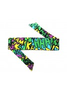 HK Army Headband - Comic Neon