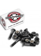 Independent Genuine Parts Phillips Hardware 1 in Black - Skateboard Mounting Hardware