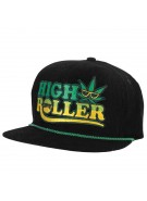 Creature High Roller Adjustable Corduroy - Black - Mens Hat