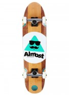 Almost Mo Bamboo Cruiser - Brown - 31 - Complete Skateboard