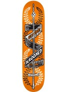 Krooked Poke Yer Eyes Out Small SM - Orange - 7.81 - Skateboard Deck