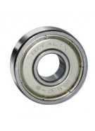 Yocaher Ritalin Bearings - ABEC 5 8 Pack - Chrome - Skateboard Bearings