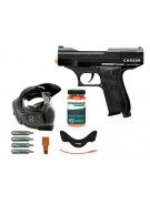 Kingman Training Chaser 43 Caliber Paintball Pistol Players Pack - Black