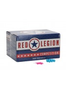 Red Legion Paintballs Case 500 Rounds - Pink Fill
