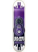 Blueprint Skateboards Babushka Jensen - White - 7.875 - Skateboard Deck