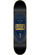 Blueprint Skateboards Emblematic Shier - Blue - 8.5 - Skateboard Deck