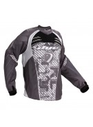 2011 Dye C11 Paintball Jersey - Geometric White/Grey