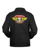 Powell Peralta Winged Ripper Jacket - Black - Mens Jacket