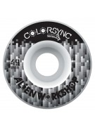 Alien Workshop Color Sync II Logo - Black - 49mm - Skateboard Wheels