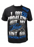 Contract Killer 2011  99 Pump T-Shirt - Black w/ Blue