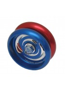 Custom Products MAG Stiletto Aluminum Yo-Yo - Blue/Red