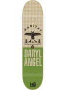 Habitat DA Daryl Angel Hinterland Hemp - Green - 7.75 - Skateboard Deck