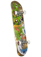 Powell Golden Dragon Steve Caballero Ink - 7.625 - Complete Skateboard