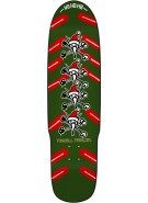 Powell-Peralta Xmas Vato Rat Deck - Green - 9.5 - Skateboard Deck