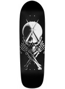 "Powell Peralta Skull and Dagger - Black - 9.5"" - Skateboard Deck"
