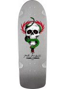 Powell Peralta Bones Brigade Reissue - Mike McGill - Silver - 10in x 30.125in - Skateboard Deck
