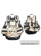 RAP4 Counterstrike Paintball Vest - Desert Camo