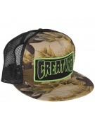 Creature Patch Trucker Mesh - Camo/Black - Mens Hat