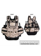 RAP4 Counterstrike Paintball Vest - Digital Desert