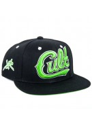 Young and Reckless Cult Snapback - Black - Mens Hat