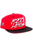 Young and Reckless Slasher Snapback - Red - Mens Hat