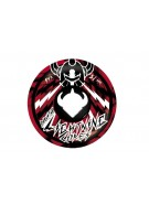 DarkStar Bolt Marble Lightning Core - Black/Red - 51mm - Skateboard Wheels