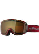 Dye T1 Red Snowboard Goggles w/ Additional Lens - Bronze Fire