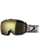 Dye T1 Steamboat Snowboard Goggles w/ Additional Lens - Bronze Fire