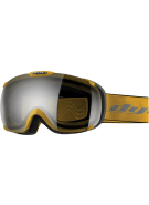 Dye T1 Yellow Snowboard Goggles w/ Additional Lens - Faded Smoke