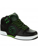 DVS Aces High - Black Leather - Skateboard Shoes