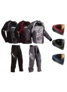 2011 Dye C11 Paintball Pants & Jersey Combo w/ I4 Mask - Geometric