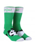 Enjoi Panda Feet - Green - Mens Socks
