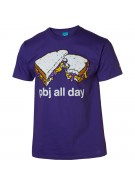 Enjoi PBJ All Day S/S Tee - Purple - Mens T-Shirt